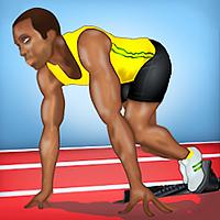 100 meter sprint