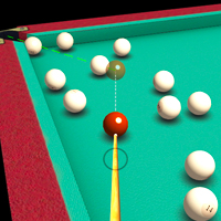 3d billiard pyramid