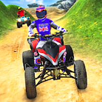 quad bike hill race