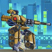 Roboter Panzer