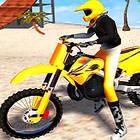 beach bike stunt racing