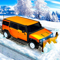 Snow Jeep Simulator