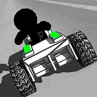stickman car racing