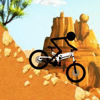stickman downhill
