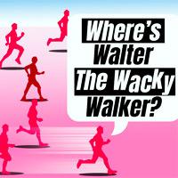 Wo ist Walter der verrückte Wanderer
