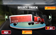 18 Wheeler Impossible Stunt: Truck Selection