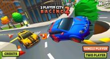 2 Player City Racing 2: Menu
