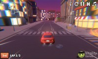 2 Player City Racing: Gameplay