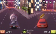 2 Player City Racing: Multiplayer