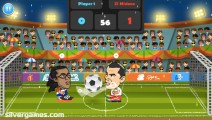 2 Player Head Football: Big Heads
