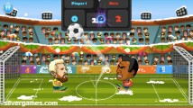 2 Player Head Football: Gameplay