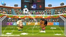 2 Player Head Football: Gameplay