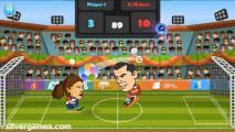 2 Player Head Football: Match