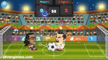 2 Player Head Football: Screenshot