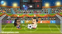 2 Player Head Football: Screenshot
