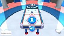 Hockey De Mesa 3D: Menu