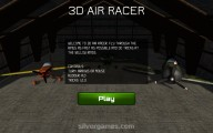 3D Air Racer: Menu