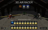 3D Air Racer: Gameplay Aircraft Selection