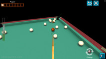 3D Billiard Pyramid: Gameplay Pool Aiming