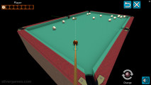 3D Billiard Pyramid: Pool Shooting