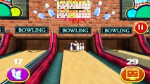 3D Bowling: Gameplay Bowling