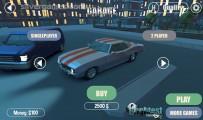 3D Night City: 2 Player Racing: Car Selection