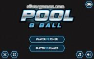 8 Ball Pool: 2 Player: Menu