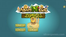 Adam And Eve: Zombies: Menu