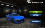 Ado Stunt Cars 2: Menu