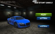 Ado Stunt Cars: Menu