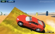 Ado Stunt Cars: Stunt Red Sports Car