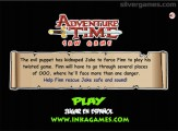 Adventure Time Saw Game: Point And Click