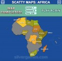 Africa Map Quiz: Gameplay Map Countries