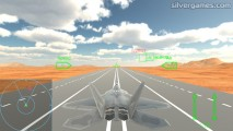 Air Combat Simulator: Jet Fighter Take Off