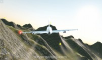 Airbus Flight Simulator: Gameplay Hills Flight