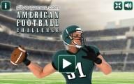 American Football Challenge: Menu