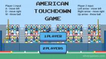 American Touchdown: Menu