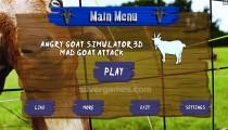 Angry Goat Simulator: Menu