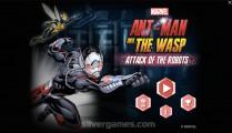 Ant Man And The Wasp Attack: Menu