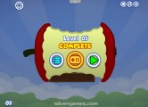 Apple Worm: Level Complete