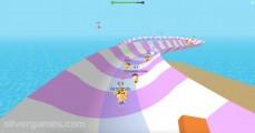 Aquapark.io: Gameplay Sliding