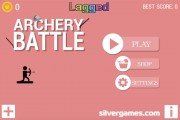 Archery Battle: Menu