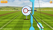 Archery Training: Aiming Arrow