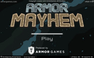 Armor Mayhem: Menu