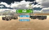 Army Cargo Driver 2: Menu