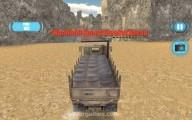 Армейский Перевозчик: Gameplay Truck Cargo