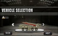 Army Missile Truck Simulator: Car Selection