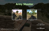 Army Shooter: Menu