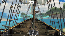 Assassin's Creed Pirates: Gameplay Boat