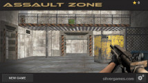 Assault Zone: Menu